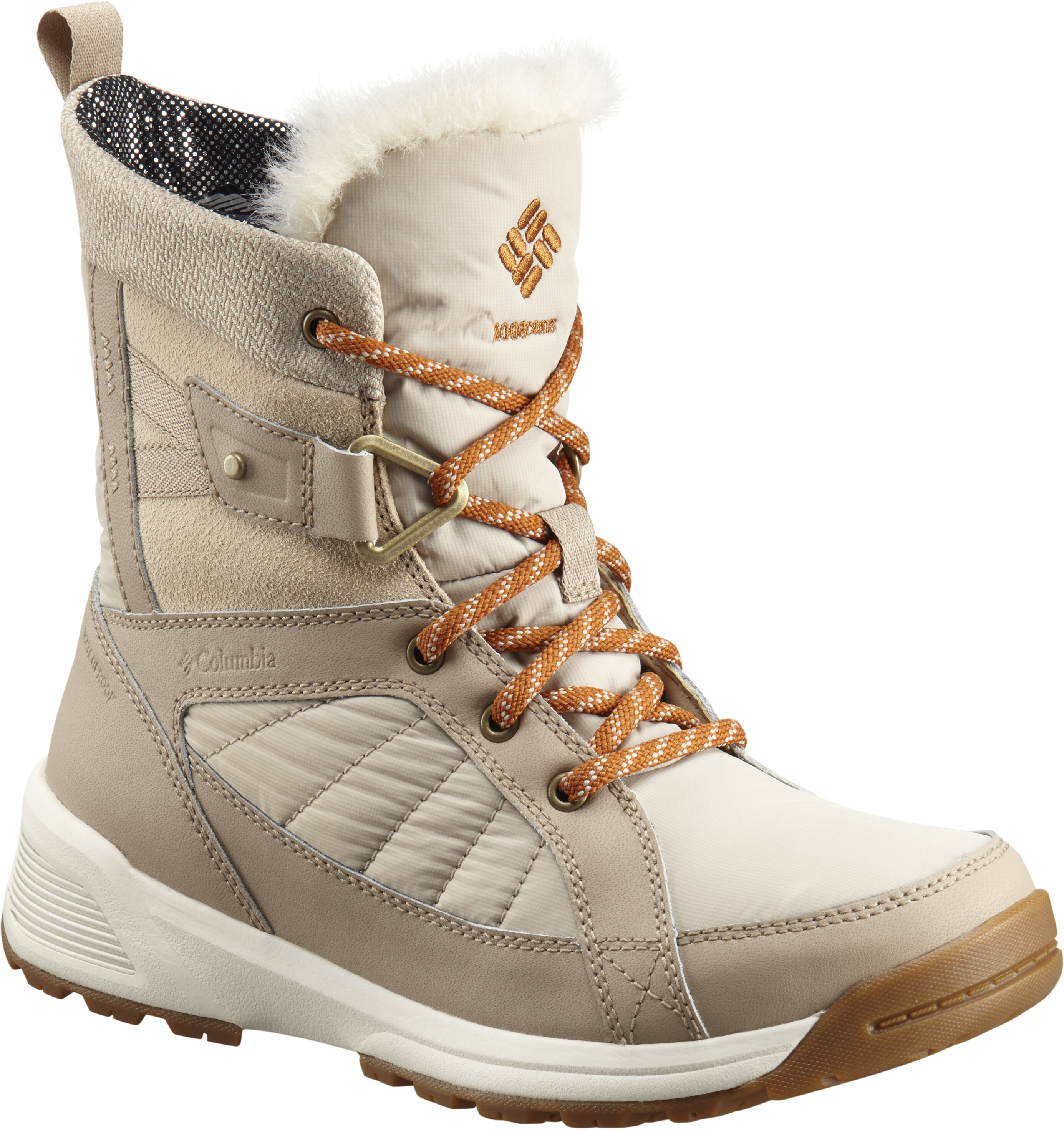 4a26f9c3508 Columbia Meadows Shorty Omni-Heat 3D - Bottes Femme - beige sur CAMPZ !